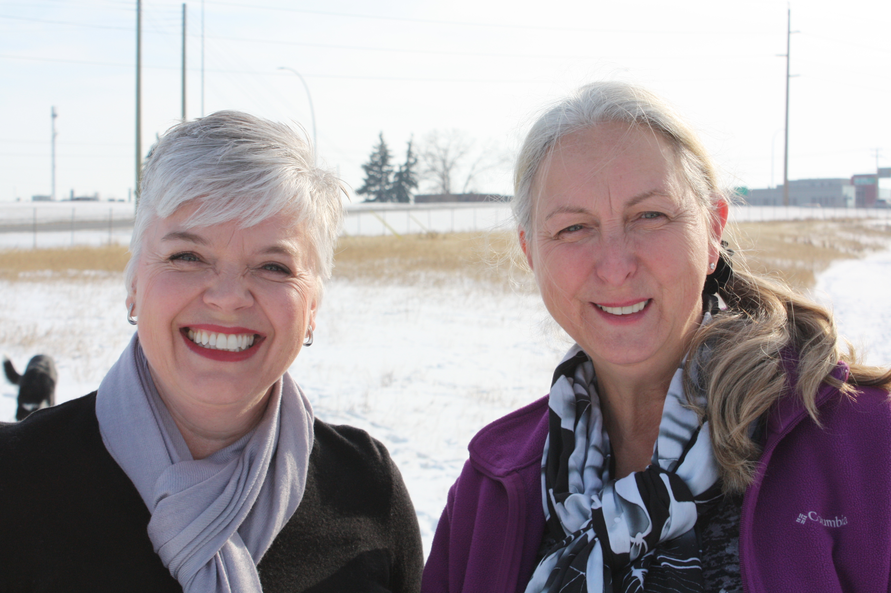 Christine McLean and Judith Pringle (CCQL)