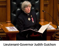 Lieutenant-Governor Judith Guichon, image from www.globaltvbc.com