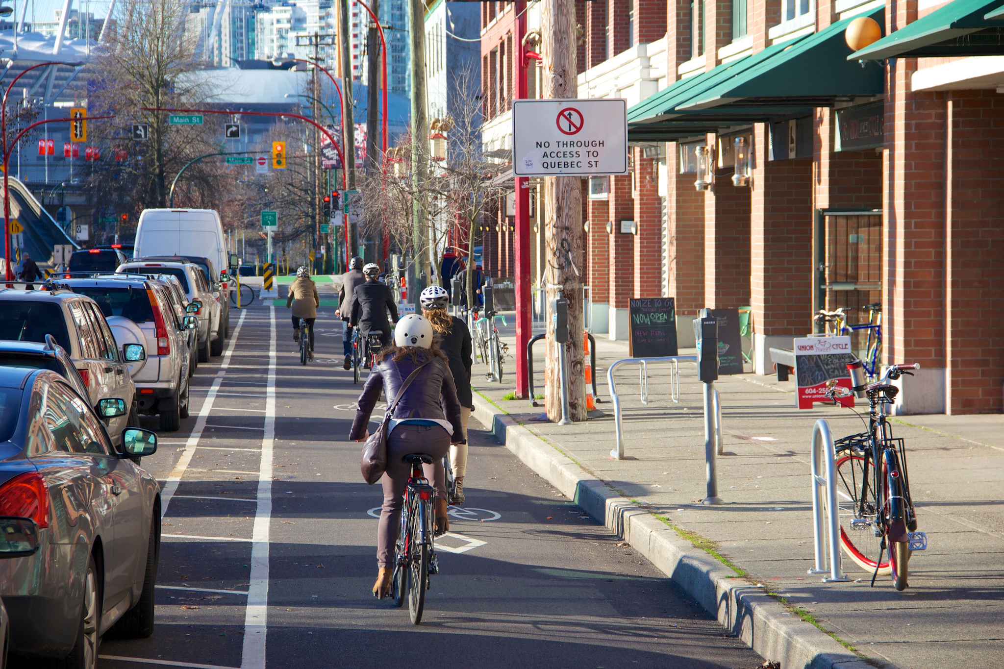 Cycling in Vancouver (Photo: Paul Krueger via Flickr)