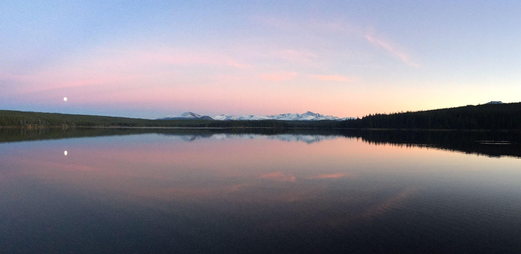 Teztan Biny (Fish Lake) in Tsilhqot'in territory (Photo: Jenna Dunsby)