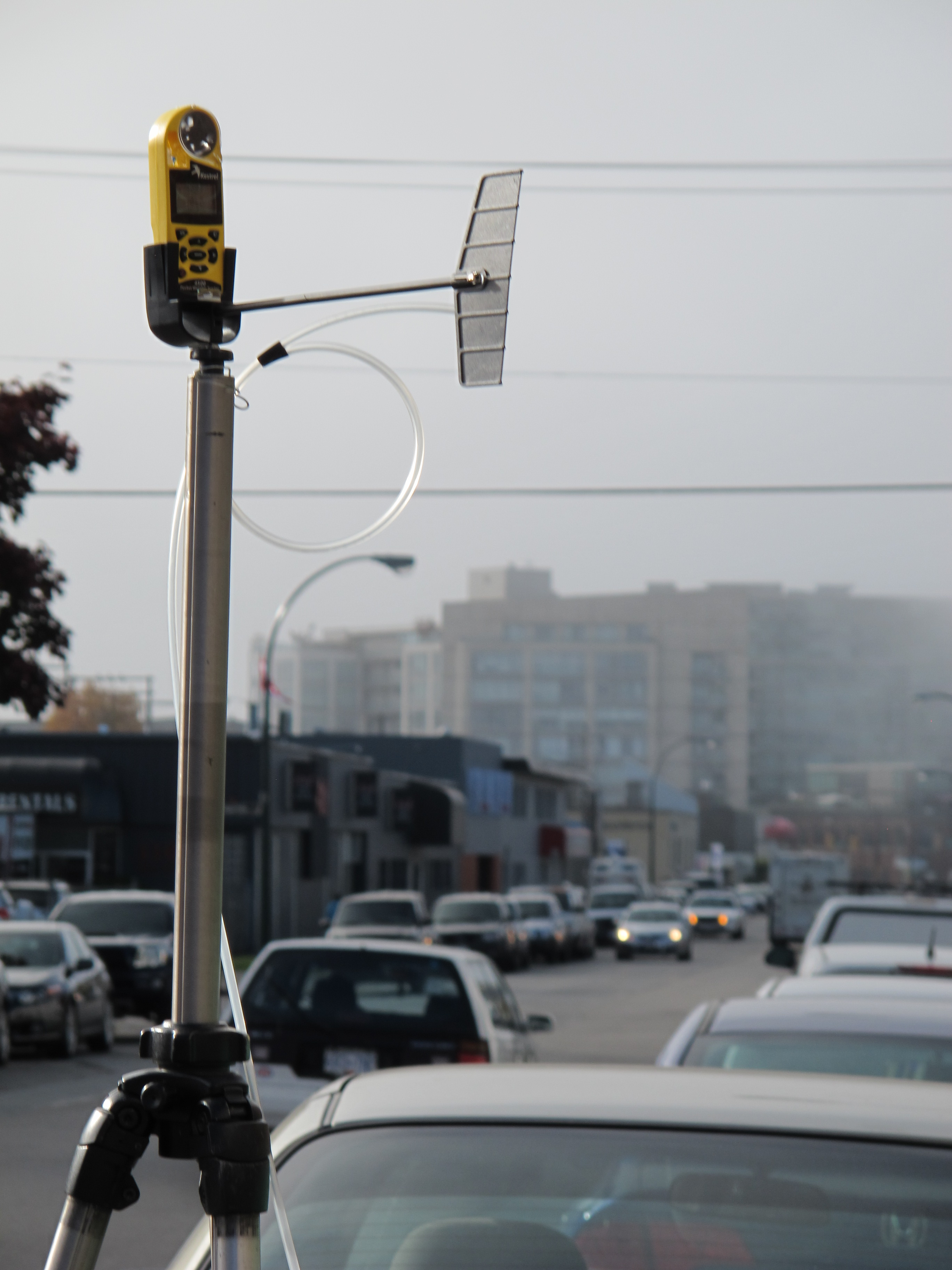 CO2 and Methane Sampling in the city of Vancouver