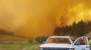 2017 BC wildfires (Photo: Province of BC)