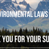 Federal environmental laws passed (graphic)