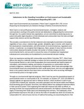 WCEL Submission on Bill C-230