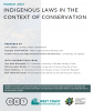 Indigenous Laws in the Context of Conservation cover
